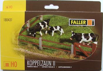 FALLER 180431 Paddock Fence 2 Bar 00/HO