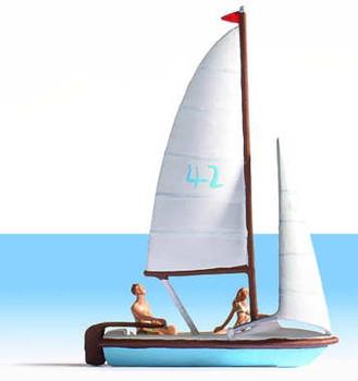 NOCH 16824 Sailing Boat & Figures 00/HO