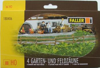 FALLER 180406 4 Garden & Field Fences 00/HO