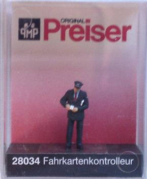 PREISER 28034 Conductor Checking The Ticket 00/HO