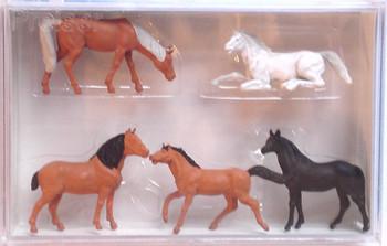 PREISER 14150 Horses 00/HO