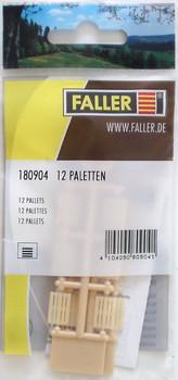 FALLER 180904 Pallets x 12 00/HO