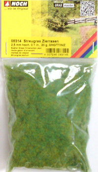 NOCH 08314 Static Grass 2.5mm Ornamental Lawn 20g
