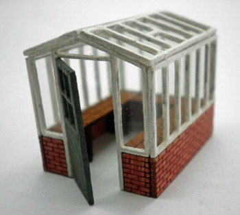 ANCORTON MODELS Greenhouse (Small) (Laser Cut Kit)'00'