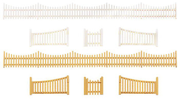 FALLER 272406 Garden Fence With Gate 'N' Gauge