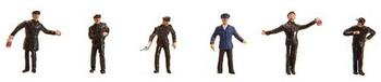 FALLER 155322 Steam Locomotive Personnel 'N' Gauge Figures