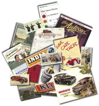 Replica Pack - The Golden Age Of Motoring