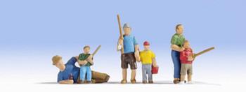 NOCH 15893 Fishing 00/HO Model Figures