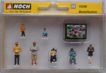 NOCH 15596 Model Railroaders 00/HO Model Figures