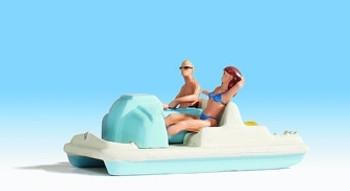 NOCH 16810 Pedal Boat & Figures 00/HO