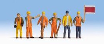 NOCH 15277 Track Workers 'H0' Model Figures