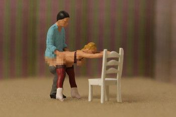 NOCH 15956 Sexy Scenes - Lovers In Action On Chair 00/HO
