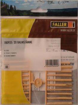 FALLER 180925 Logs x 20 OO/HO
