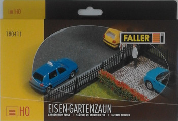 FALLER 180411 - Garden Iron Fence With Gate 00/HO
