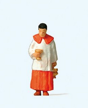 PREISER 28067 - Verger With Holy Water 00/HO