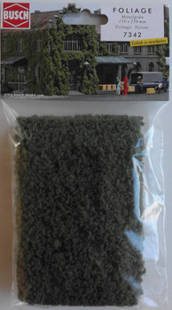 BUSCH 7342 Micro Flock Foliage Sheet (Medium Green) 25cm x 15cm