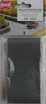 BUSCH 7083 Interlocking Pavement (Self Adhesive) 1m x 66mm 00/HO