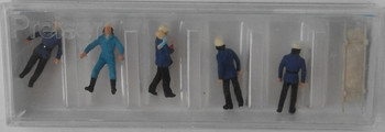 PREISER 14202 Firemen 00/HO Model Figures