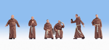 NOCH 15401 Monks 00/HO Model Figures