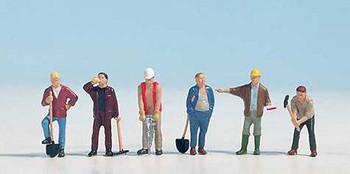NOCH 15110 Construction Workers 'HO' Model Figures