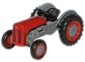 OXFORD DIECAST 76TEA002 - Ferguson TEA Tractor - Red '00'