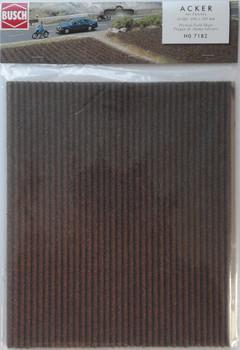 BUSCH 7182 Ploughed Field 28cm x 48cm Sheet 00/HO