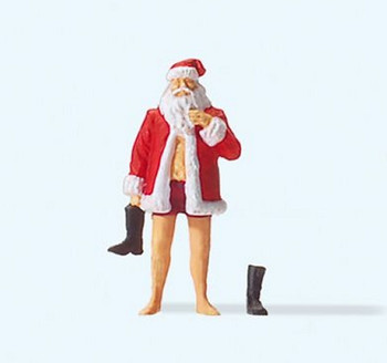 PREISER 29099 Father Christmas 'Copenhagen' 00/HO Model Figure