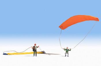 NOCH 15886 Paragliders 00/HO Model Figures