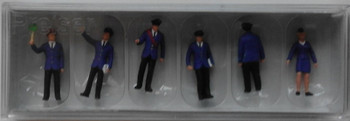 PREISER 10011 Railway Personnel DB 00/HO Model Figures