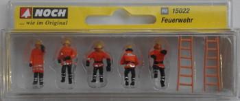 NOCH 15022 Fire Brigade 00/HO Model Figures