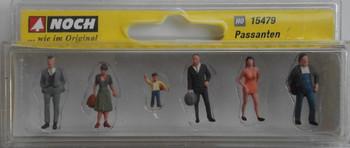 NOCH 15479 Pedestrians 00/HO Model Figures