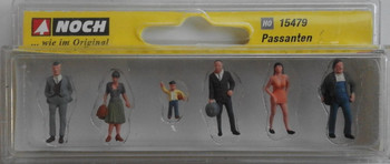 NOCH 15479 Pedestrians 00/HO Model Figures