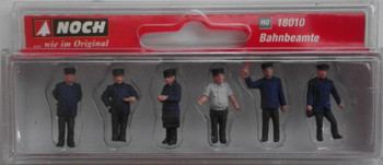 NOCH 18010 Railway Officials 00/HO Model Figures