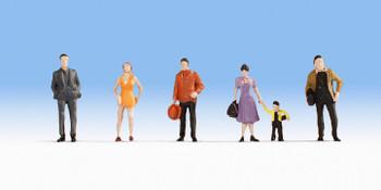 NOCH 18101 Pedestrians 00/HO Model Figures