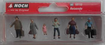 NOCH 18115 Passengers 00/HO Model Figures