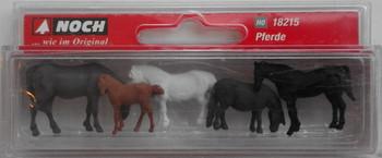 NOCH 18215 Horses 00/HO Model Figures