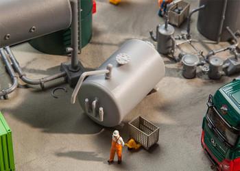 FALLER 180943 Oil Tank 00/HO Model Kit