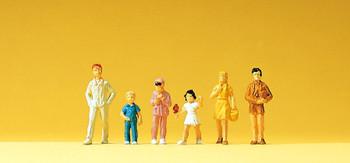 PREISER 14126 Children 00/HO Model Figures