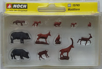 NOCH 15745 Forest Animals 00/HO Model Figures