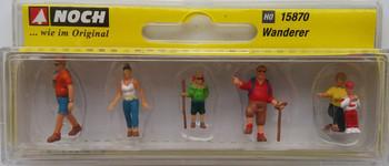 NOCH 15870 Wanderers 00/HO Model Figures
