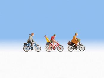 NOCH 15898 Cyclists 00/HO Model Figures