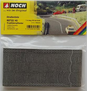 NOCH 60722 Self Adhesive Cobbled Pavement 1m x 66mm 00/HO