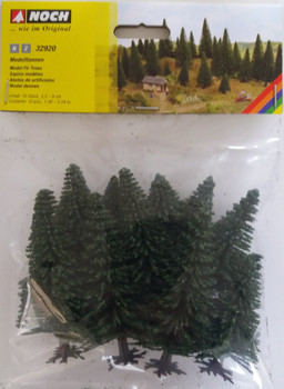 NOCH 32920 Fir Trees 3.5cm - 9cm (10) 'N' Gauge