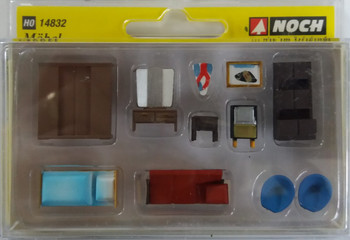 NOCH 14832 Furniture 00/HO Model Accessories