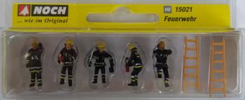 NOCH 15021 Fire Brigade 00/HO Model Figures