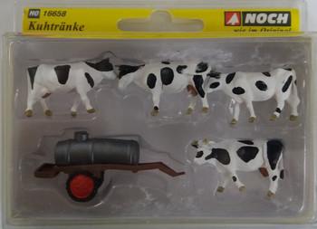 NOCH 16658 Cows At Water Trough 00/HO