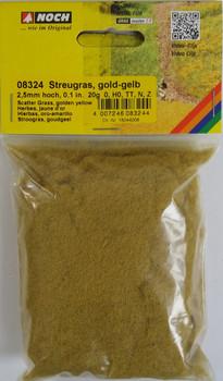 NOCH 08324 Static Grass 2.5mm Golden Yellow 20g