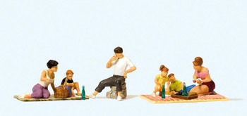 PREISER 10617 Picnic 00/HO Model Figures