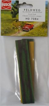 BUSCH 7084 Self Adhesive Field Path 00/HO 1m x 23mm Wide