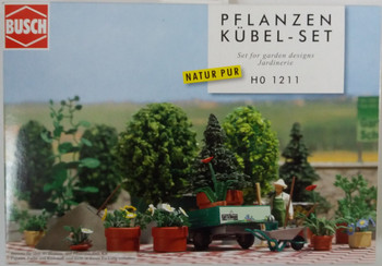 BUSCH 1211 Garden Design Set 00/HO Model Kit